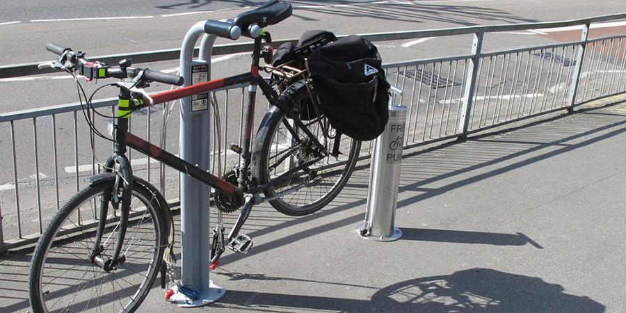 caballete taller bicicleta